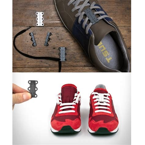 Special Universal Magnetic Sport Shoelaces Tali Sepatu Magnet Murah 1 tali sepatu magnet black jakartanotebook