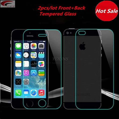Frontback 3d Tempered Glass For Iphone 6 6s Screen Pro T1310 2pcs lot front back tempered glass ᗐ for for iphone 5 5s 6 웃 유 6s 6s plus 4 4s screen protector