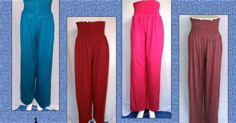 Celana Aladin Salur Murah 1 celana kulot smok grosir baju murah tanah abang