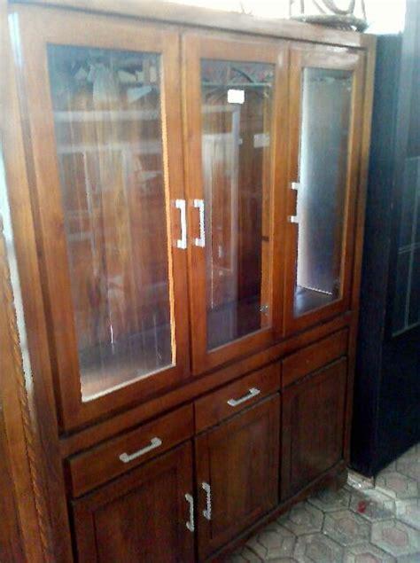 Lemari Kayu Bekasi jual bufet minimalis 3 pintu lemari pakaian harga murah bekasi oleh garage sale kemang