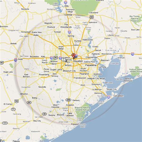 houston texas area map houston area images