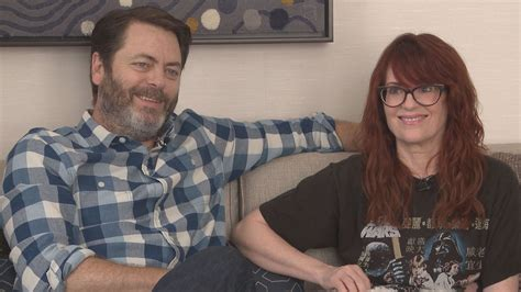 nick offerman news megan mullally and nick offerman wlbz2