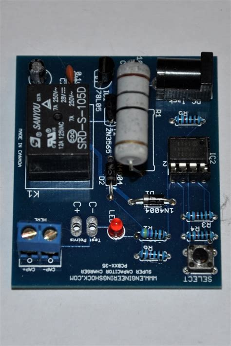 variable capacitor charger diy kit four voltage charge selections