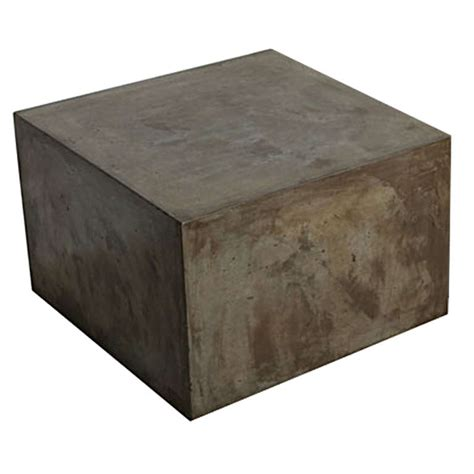 Block Coffee Table Concrete Block Forming A Coffee Table At 1stdibs