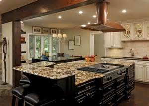Large Custom Kitchen Islands by Ideas Spellbinding Kitchen Island Designs With Stove Top