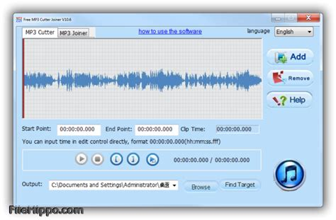 mp3 cutter old download download free mp3 cutter joiner 10 8 filehippo com