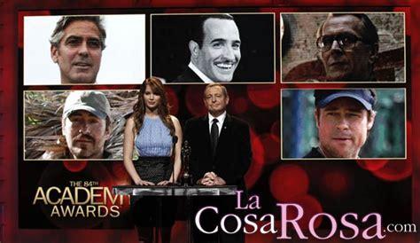 lista completa de los nominados a los oscar 2012
