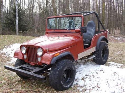 1974 Jeep Cj5 Parts Buy Used 1974 Jeep Cj5 Base Sport Utility 2 Door 3 8l In