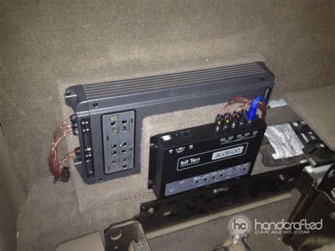 Handcrafted Audio - 2003 chevrolet silverado gets a hertzaudison audio