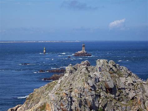Landscape Sea Point Point Du Raz Sea Landscape Nature Sky