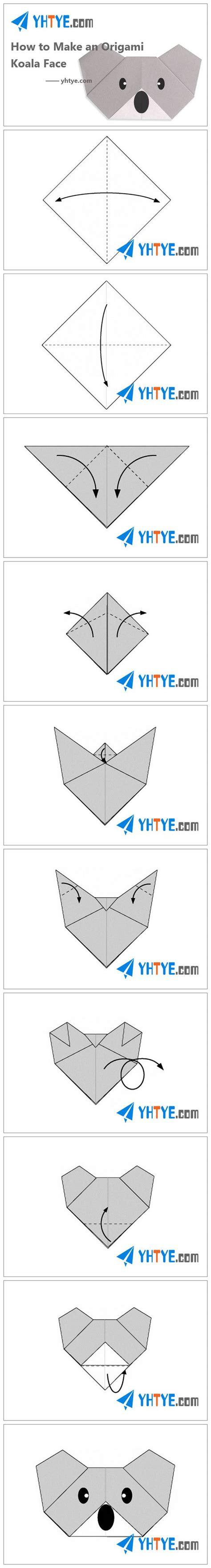 how to make an origami koala how to make an koalas and origami on