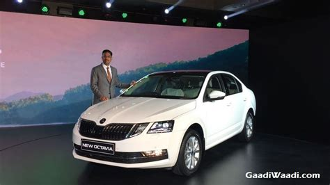2017 Skoda Octavia Facelift Launched in India at Rs. 15.49
