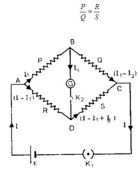 wheatstone bridge derivation pdf dmr s physics notes wheatstone bridge principle