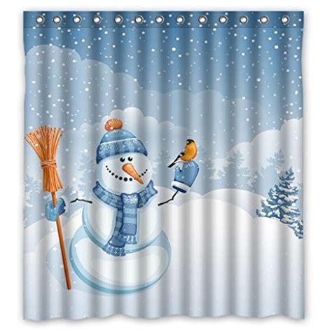 snowman shower curtains snowman shower curtain sets comfy christmas