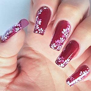 unghie con i fiori fiori unghie gel gpsreviewspot