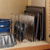 tray organizers divide your cookie sheets pots and pans