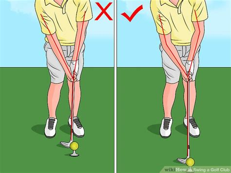 how to swing a golf club for beginners the best way to swing a golf club wikihow