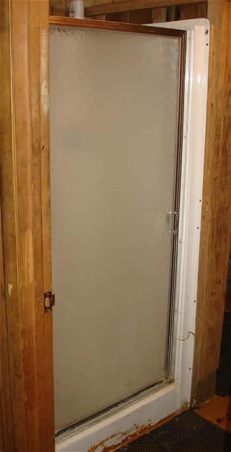 basement shower stalls