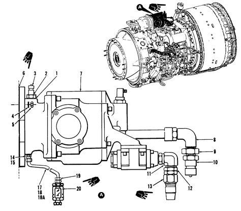 Gasket Packing Engine 168 55 Hp t55 turboshaft engine tm 55 4920 328 13 1 234