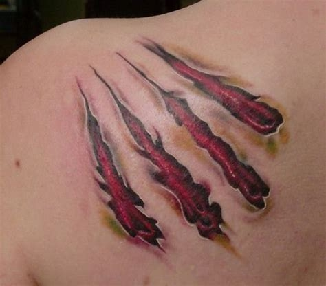 tattoo wound pictures bear claw marks tattoos image attachment php aid 7214