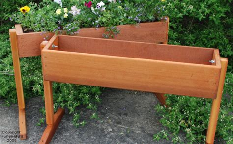Free Standing Planter Boxes by Free Standing Planter Box Plans Log Cabin Construction Plans