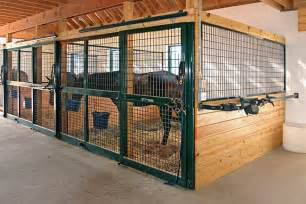 four stall barn ideas for completely removable stall front