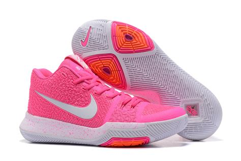 ventilation nike kyrie 3 pink white s basketball