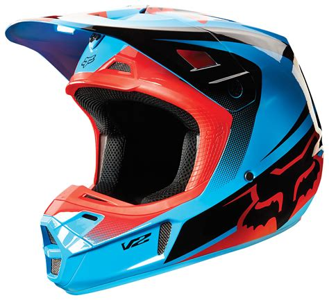 motocross racing 2 fox racing v2 imperial helmet revzilla