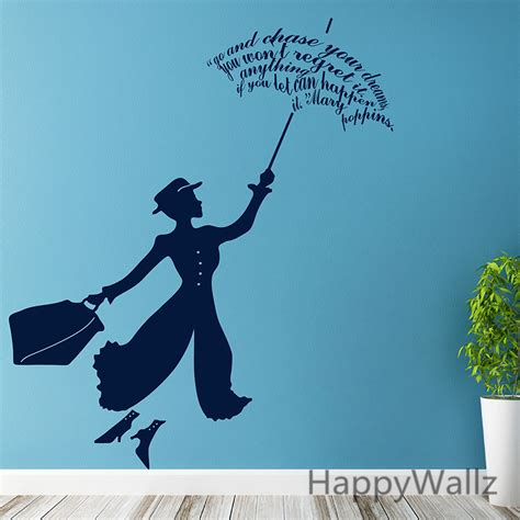 Modern Home Decorating Stores by Aliexpress Com Buy Mary Poppins Wall Sticker The Movie