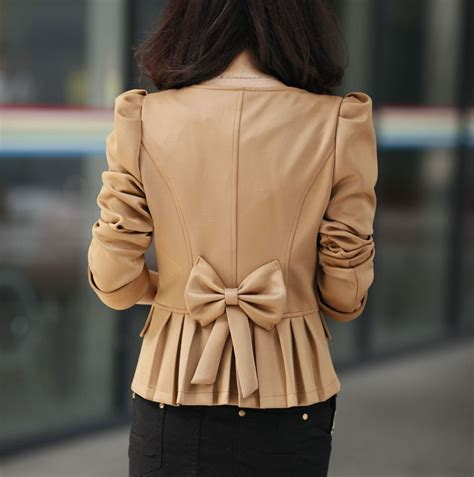 Outerwear Blazer Bow Back Blazer Wanita bow back blazer 183 kalliope s closet 183 store powered
