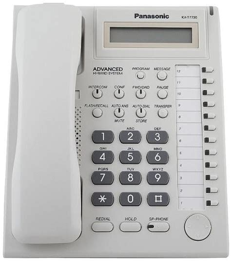 Pabx Panasonic Kx Tes824 Telephone Key Kx T7730 3 panasonic kx t7730 with screen compatible central phone tes 824 tem 824 price review and buy
