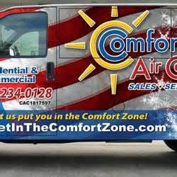 comfort air zone comfort zone air conditioning yelp