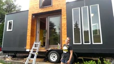 utube tiny houses tiny house tour