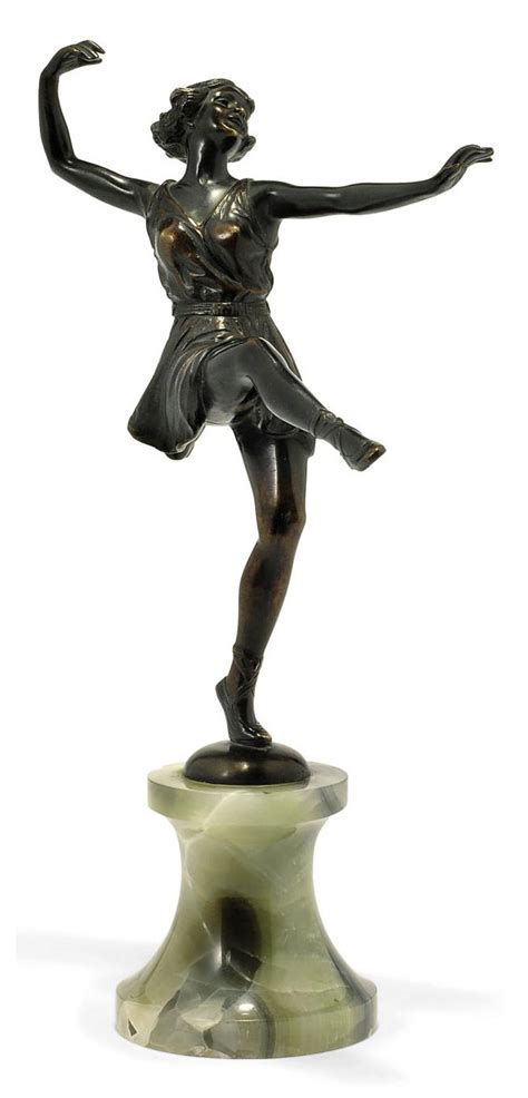 bruno zach patinated bronze dancer circa  christies