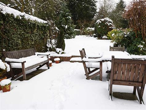 How To Store Protect Wooden Garden Furniture For Winter Winter Outdoor Furniture