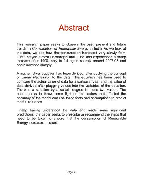 Wind Energy Essay by Renewable Energy Cosumption In India Analysis
