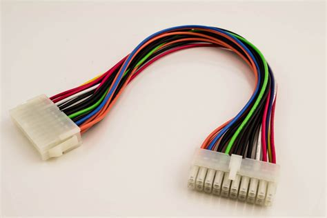 wire to wire power connector atx power cable 20p to 20p pactech