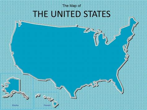 Map Of Usa Powerpoint Template Usa Powerpoint Template