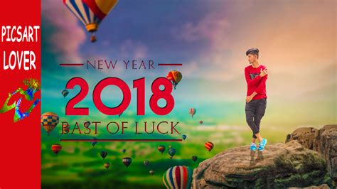 picsart editing tutorial video download picsart happy new year editing png image download