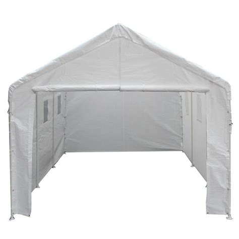 king canopy sheds storage 10 ft w x 20 ft d universal