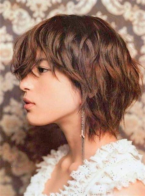 hairstyles cute messy short layered haircuts short