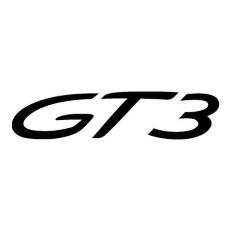porsche logo vector porsche 911 gt3 logo decal