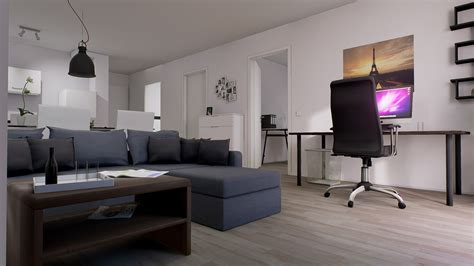modern flat threedee modern flat interior by threedee gmbh in