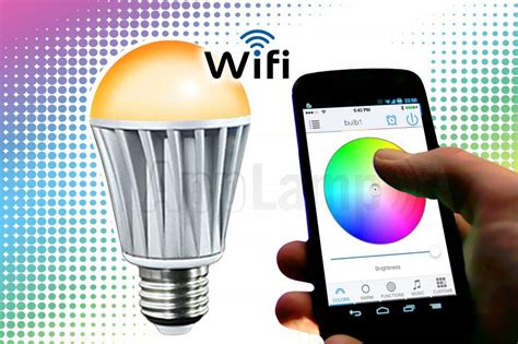 Wifi Led Light Bulb Bluetooth Led L 16m Kleuren Warm Wit Up Light V2 Appl