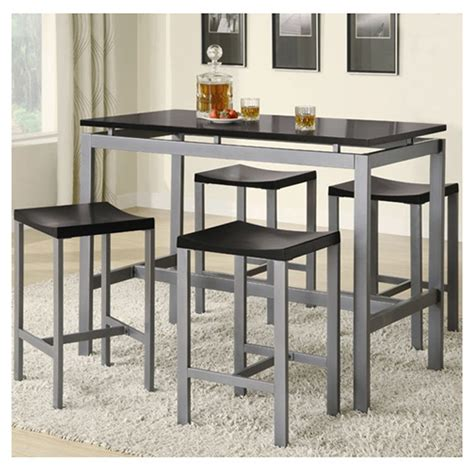 White Pub Table With Stools by Add Stylish Rectangular Pub Table For Residential Or