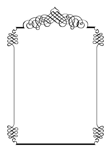 printable picture frames templates free printables for happy occasions diy calligraphic