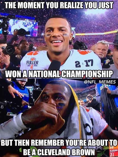 Clemson Football Memes - funniest tweets memes from the clemson alabama