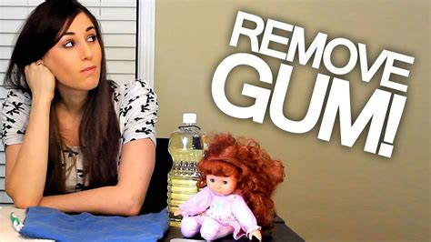 how to remove gum from rug how to remove gum from hair clothing carpet and upholstery easy cleaning ideas clean my