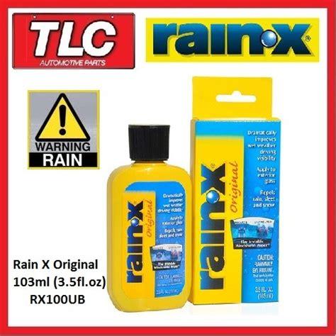 how to get rainx windshield x rainx x original 103ml windscreen repellent