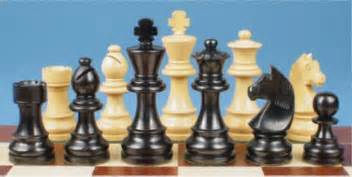 Staunton Chess Pieces Learn Chess The Pieces